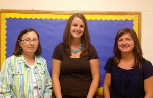 The Team: Kathy Jackson, Amy Pung, and Corey Werner